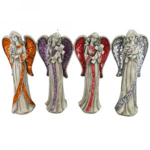 Mosaic Angels (Set of 4)