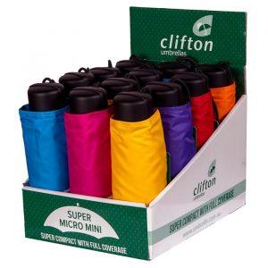 Folding Umbrellas Coloured Box Set