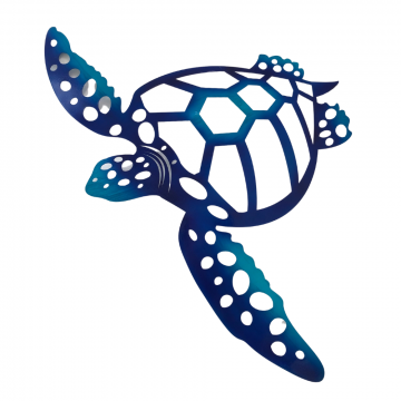 Turtle Exterior Wall Art