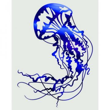 Jellyfish Exterior Wall Art