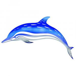 Dolphin Exterior Wall Art
