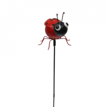 Lady Bug Garden Stake