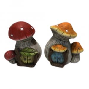 Mushroom Fairy House (Set of 12)
