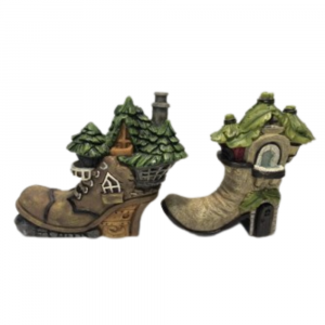 Fairy Boot House (Set of 4)